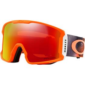 Oakley Line Miner goggles rood/bont
